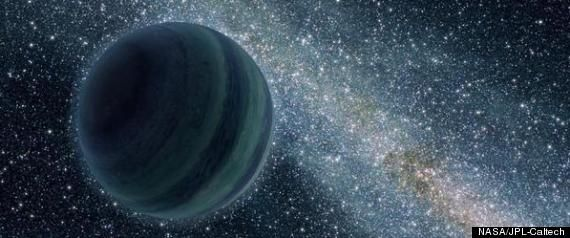 """[May 22, 2012] Huffington Post: """" 'Planet X?' Odd Orbits In Solar System May Mean Unseen Object, Astronomer Conjectures -- A planet four times the size of Earth may be skirting the edges of the solar system beyond Pluto, according to new research. Too distant to be easily spotted by Earth-based telescopes, the unseen planet could be gravitationally tugging on small icy objects past Neptune, helping explain the mystery of those objects' peculiar orbits."""""""
