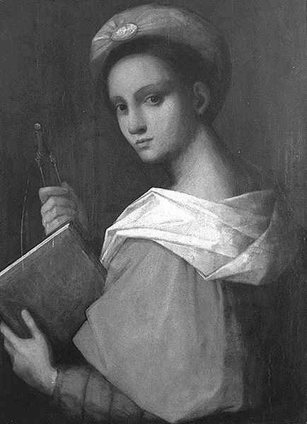 Andrea del Sarto, Allegory of Architecture, date unknown, Wallraf-Richartz-Museum, Cologne.  Bildindex—http://www.bildindex.de/ (downloaded February 2009)