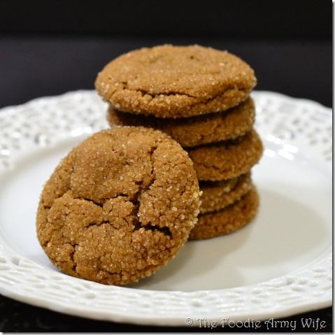 Chewy Ginger Snaps - all of the flavor of the classic, in a soft and chewy cookie