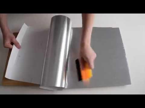 truco para forrar con vinilo - YouTube | Bricolages | Decoupage ...