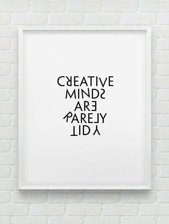 Creative minds...