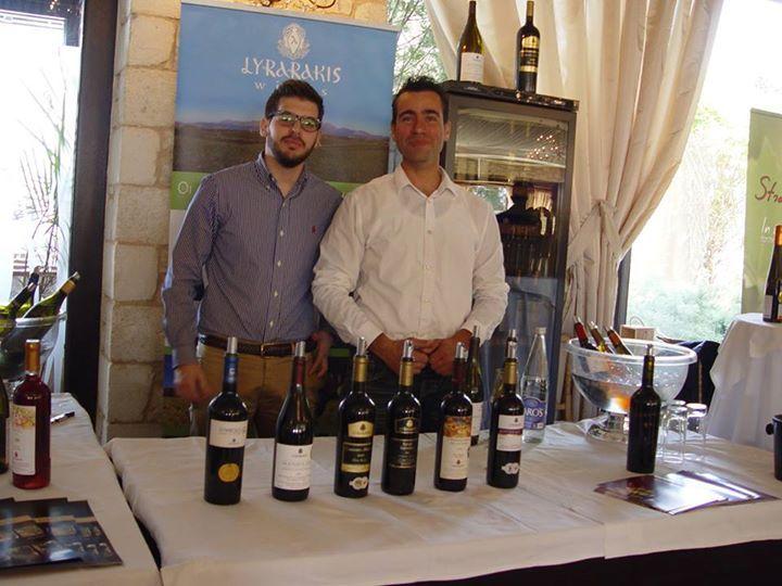 Oinotika 2014 - Wines of Crete YouTube https://www.youtube.com/playlist?list=PLk8z0K3VDVCctNlHgUckRaINsAXR-VzxM Instagram http://instagram.com/lyrarakiswines Website http://www.lyrarakis.gr/ Facebook Page https://www.facebook.com/LyrarakisWines Facebook Group https://www.facebook.com/groups/45448215812/ Twitter https://twitter.com/lyrarakis TripAdvisor http://www.tripadvisor.com/Attraction_Review-g189417-d2632334-Reviews-Lyrarakis_Winery-Heraklion_Crete.html