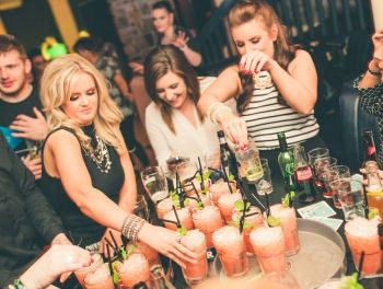 Our Hens Night Out on the Town Hen Party package, involves Cocktails, Shots, while checking out Sligo's best Hot Spots, after you are finished your tour of the town, you return the The Garavogue Bar in Sligo town for some VIP treatment in Sligo's No1 Hen and Stag Party destination