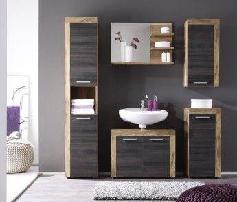 Les 25 meilleures idées de la catégorie Salles de bains gris foncé ...