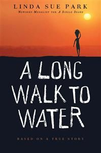 """A Long Walk to Water"""" begins as two stories, told in alternating sections, about two eleven-year-olds in Sudan, a girl in 2008 and a boy in 1985. The girl, Nya, is fetching water from a pond that is two hours' walk from her home: she makes two trips to the pond every day. The boy, Salva, becomes one of the """"lost boys"""" of Sudan, refugees who cover the African continent on foot as they search for their families and for a safe place to stay."""