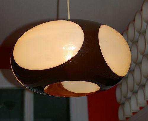 Swag Lamps Retro Vintage Lighting | ... design UFO lamp light vintage lampe 70 70s 70's SPACE AGE retro pop