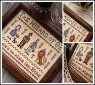 The Little Stitcher: The Little Stitcher Patterns....The Wizard of Oz!