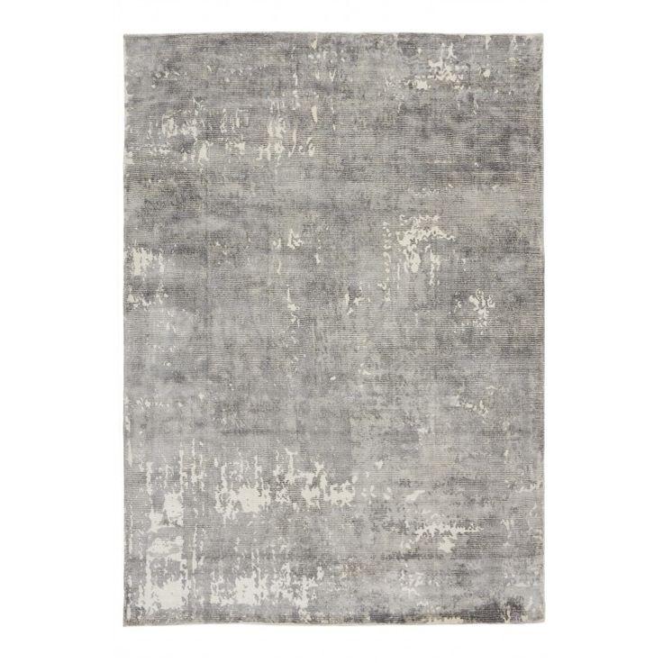 Linie Design Fuller Ull/Viskosmatta, Grey - Mattor - Inredning