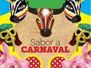 """COLOMBIA   EL CARNAVAL DE BARRANQUILLA, EN BOGOTA. 5 FEB 2013 - """"Sabor a Carnaval en el Varadero"""". (VIVE.IN)."""