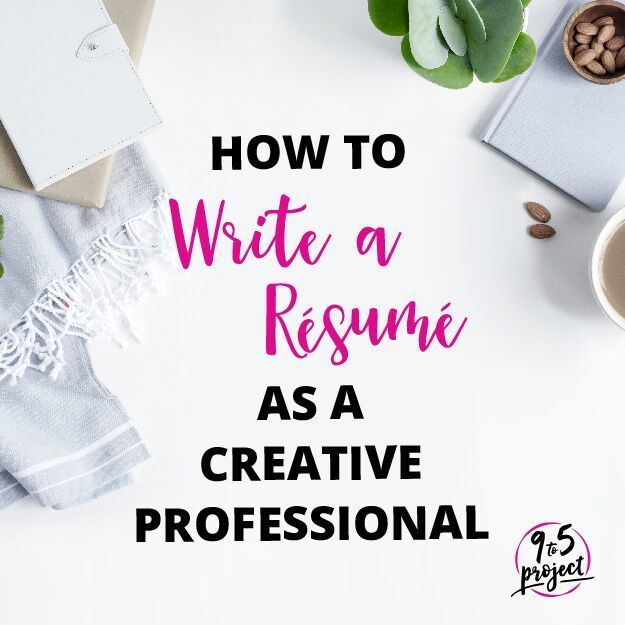 Are you a blogger, freelancer, writer, or other creative professional? Here are some tips on how to write a resume for those of us that have very unique jobs!