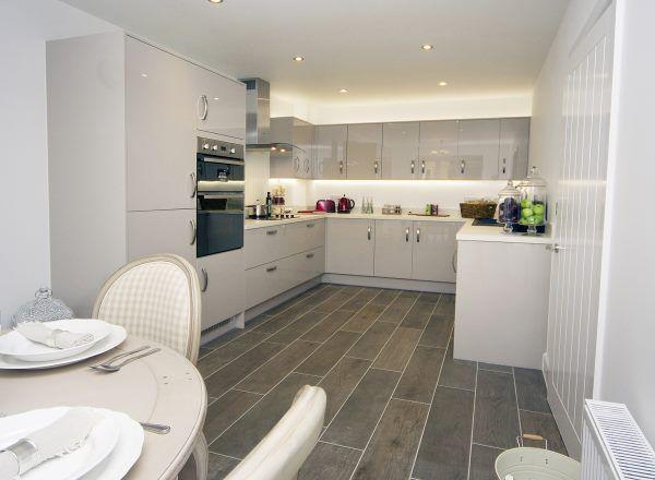 Kitchen @ Lambert Grove, Kentford by Bloor Homes