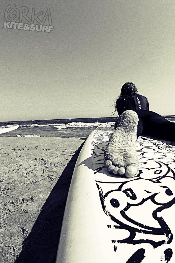 Surfing. Morze Bałtyckie.  www.orkasurf.pl
