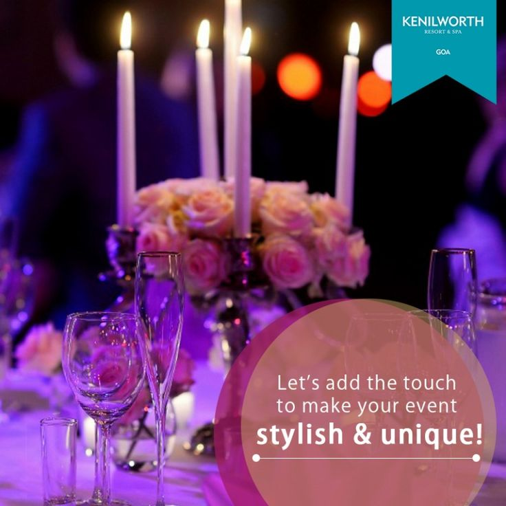 Incorporating elegance and finesse, we plan and execute your events with utmost perfection.  #KenilworthHotels #FineDining #DinnerNight #Restaurant #Event #HappyCouple #Hospitality #Luxury #Spa #Hangout #Resort #Goa