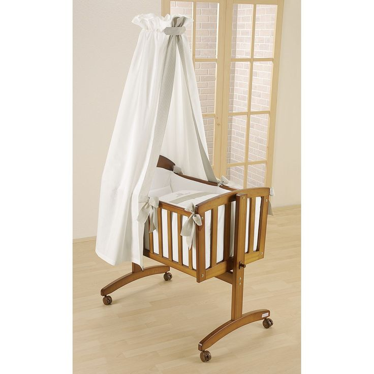 German baby cradle  | Home / Cots / Cot Beds / Cribs / Leipold Amadeus Rocking Cradle