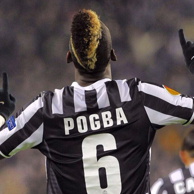 Paul Pogba, French International Midfielder,  not many like his hair but I love it.