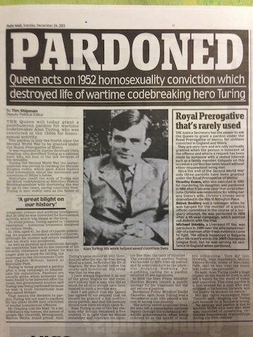 The Alan Turing Year - 2012 Turing Centenary #HEROhasbeenwronged