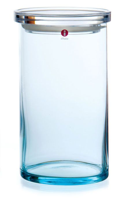 littala Finnish Glass Store Jars