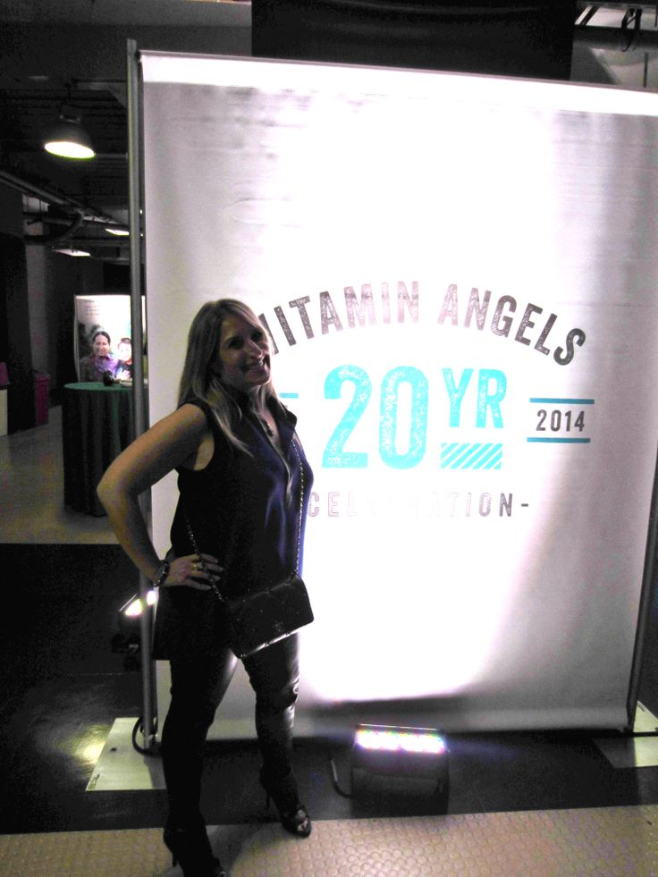 Vitamin Angels, a great company our Publisher Heather supports! Natural Products Expo West
