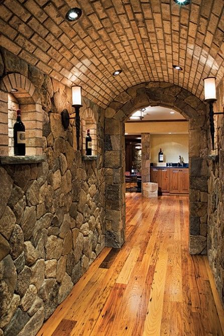 13 best images about natural stone home interiors on pinterest - Stone house interior ...