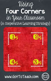 Four Corners: A Cooperative Learning Strategy