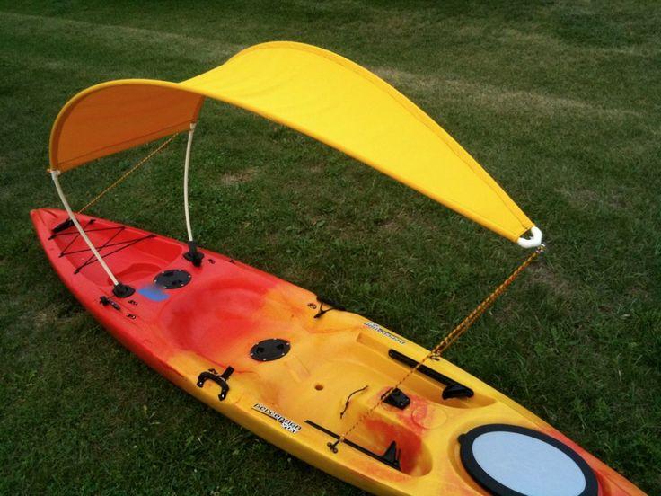 Kayak bimini top 6 lg paddling gear pinterest kayak for Kayak accessories for fishing