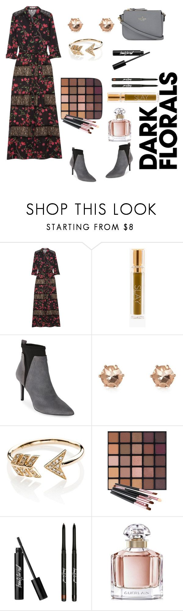 """""""Untitled #853"""" by mamatoodie-1 ❤ liked on Polyvore featuring Alice + Olivia, Jones New York, River Island, EF Collection, Guerlain and Kate Spade"""