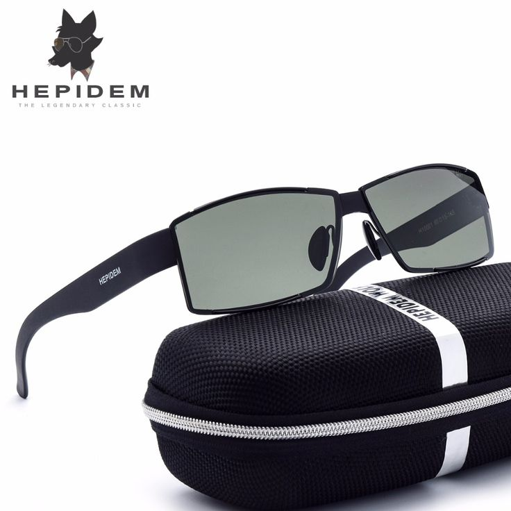 HEPIDEM 2017 Cool d Squared HD Polarized Sunglasses Men Brand Designer Sun Glasses for Men High Quality Tr90 Hot Rays Sunglass