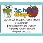 Back to School, Open House, Parent Orientation Nights when we, as teachers, have a multitude of  information to dispense to parents and very little...