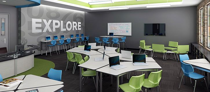 Today, no manufacturer offers more choices in school computer lab furniture than Smith System. As pioneers in computer furniture, we offer more choices.