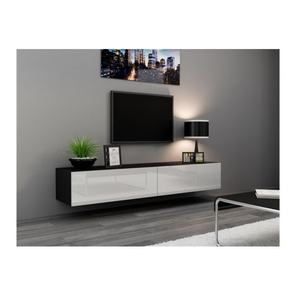 meuble tv design suspendu vito 180cm