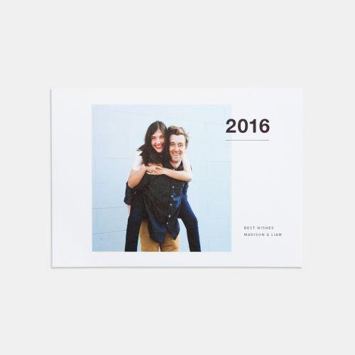 Bold 2016 Holiday Card