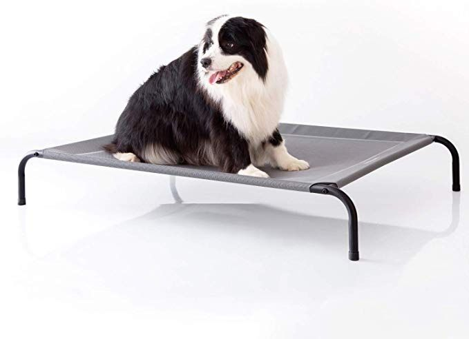 Petsure 35 43 49 Inches Outdoor Elevated Dog Bed Cooling Raised