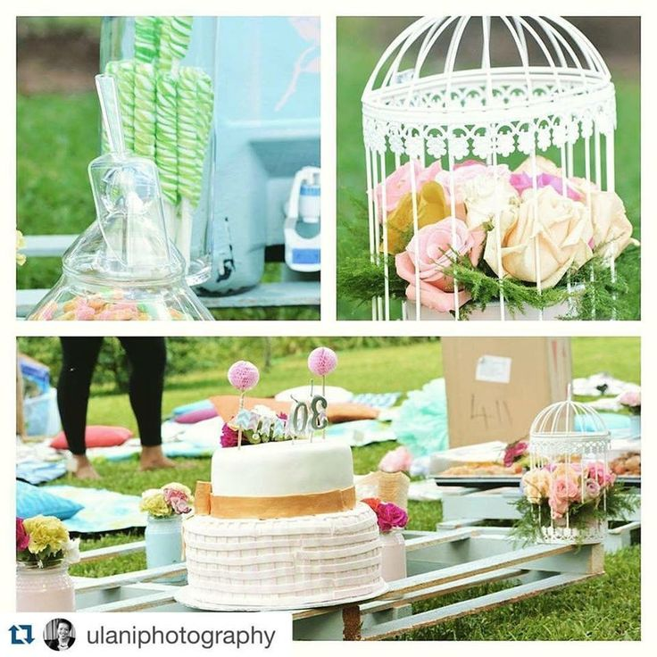 Pastels inspired Birthday Summer Picnic Styled by @RosesPearlsZA