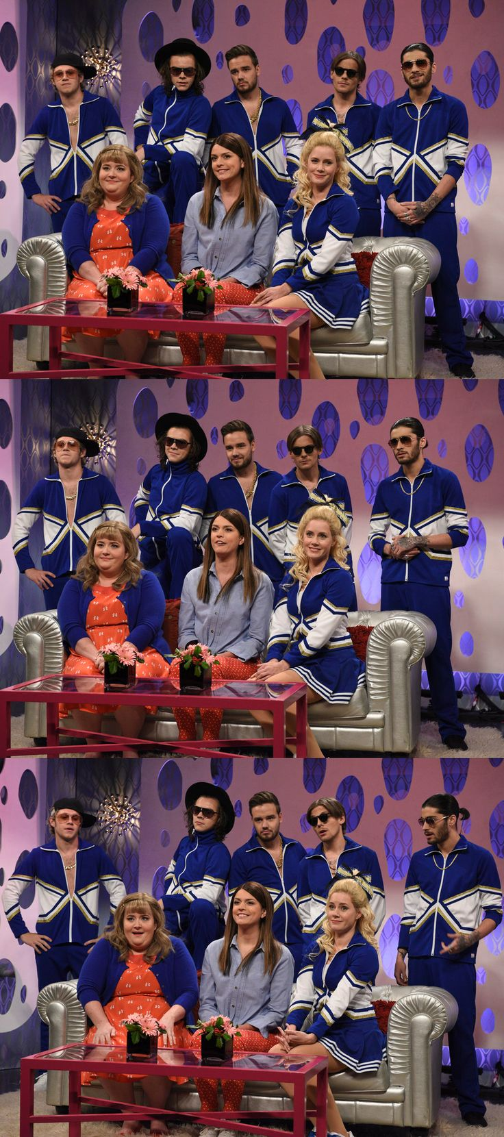 One Direction on SNL. This was hilarious!! Niall Horan / Liam Payne / Harry Styles / Louis Tomlinson / Zayn Malik