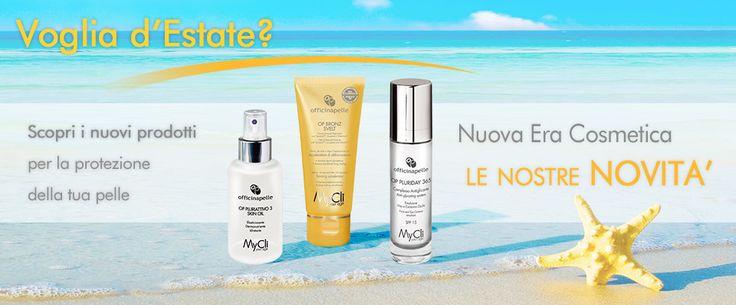 Scopri le nostre novità per l'estate 2013!  Per una pelle abbronzata, idratata, elastica e luminosa.    Per saperne di più visita il nostro sito: http://www.mycli.it/it/