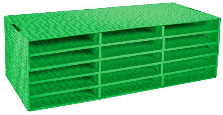 Construction paper sorter - 15 slots