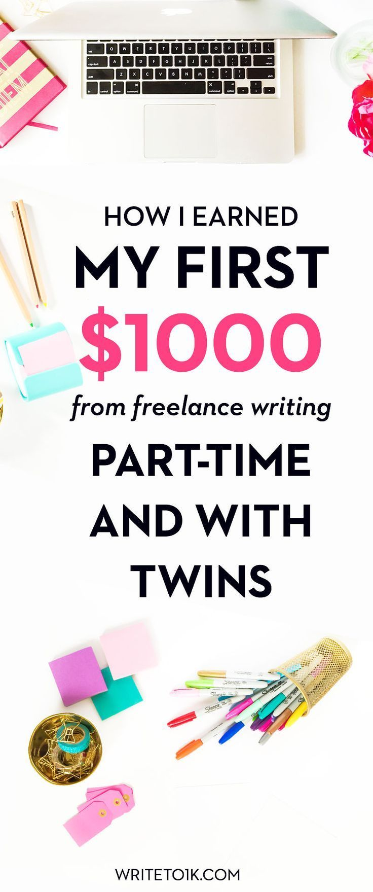 Are you a mom blogger? Want to earn some extra cash on the side? Check out this awesome course to teach you how to make money as a freelance writer! This is the fastest way to get money online for sure! | Side hustle | get paid to blog | freelance writing