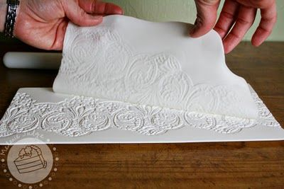 Fondant Lace Tutorial