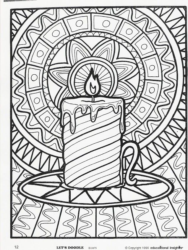 for the kids table inside insights coloring pages for holidays - Free Printable Coloring Book Pages For Adults 2