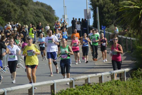 bournemouth marathon festival  I'm in this photo!