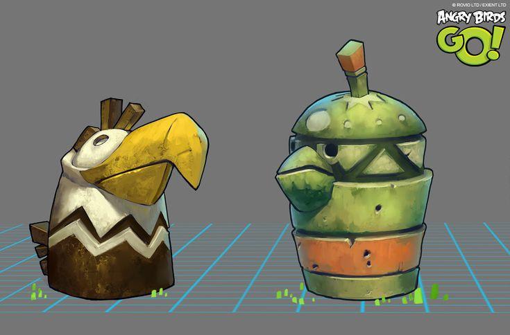 Angry Birds Go on Behance
