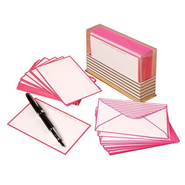 Vintage Text Messages Note Cards Bas Bleu Ur0412 Vintage Text Note Cards Book Gifts
