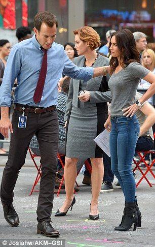 Co-estrellas: Junto con Megan, actores Will Arnett y Judith Hoag estaban en la escena