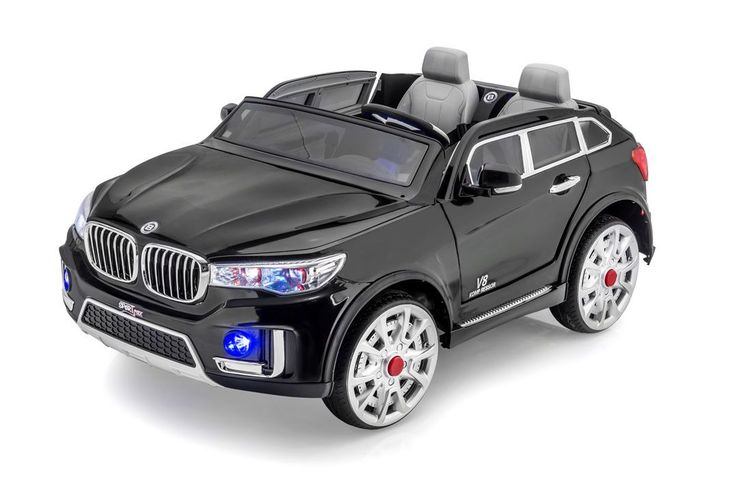 SPORTRAX BMW X7 STYLE 2 SEATER KIDS RIDE-ON CAR | BLACK