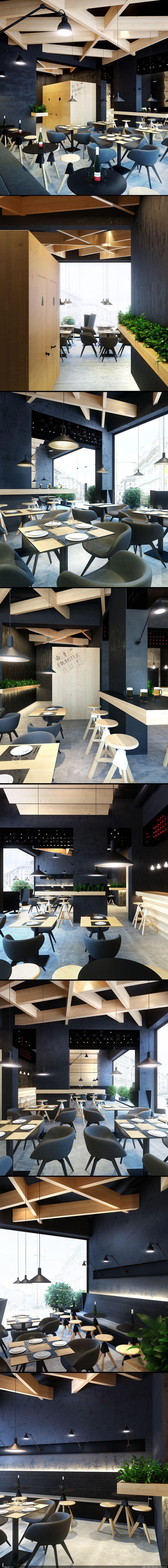 RENDER.RU -> Интерьер -> Bristol кафе - бар