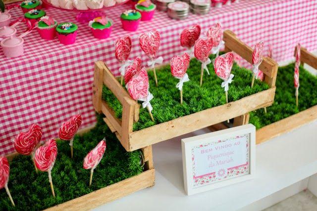 Festa Piquenique Rosa e Verde!