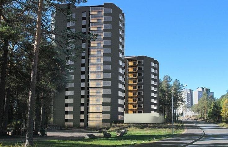 Nu har HSB Norr publicerat planerna på två nya punkthus på Kronan. De ska stå på…