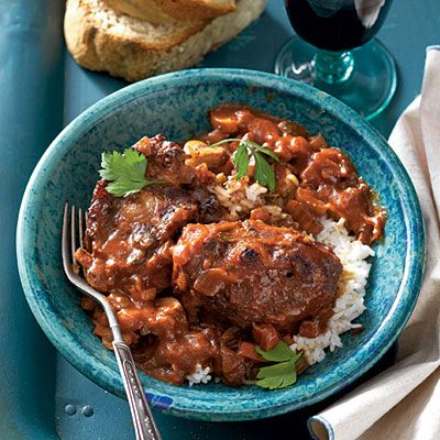 Wine-Braised Oxtails - Southern Comfort Food Classics: Slow-Cooker Recipes - Southern Living