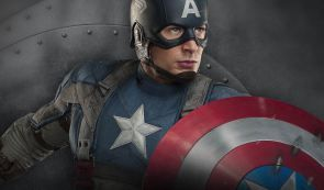 This hyper masculinity article reviews the film Captain America. This is a perfect example of Hyper masculinity. Captain America has desirable masculin traits, however, the film pretty much tells the audience that without his overly-musclybody, and the film actually portrays the message thatwithout his muscles, Captain America would be a failure:skinny, powerless, and undesirable to women