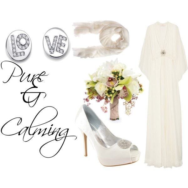 Pure & Calming, created by muniiera on Polyvore: Calm, Pure, White, Muniiera, Polyvore, Create